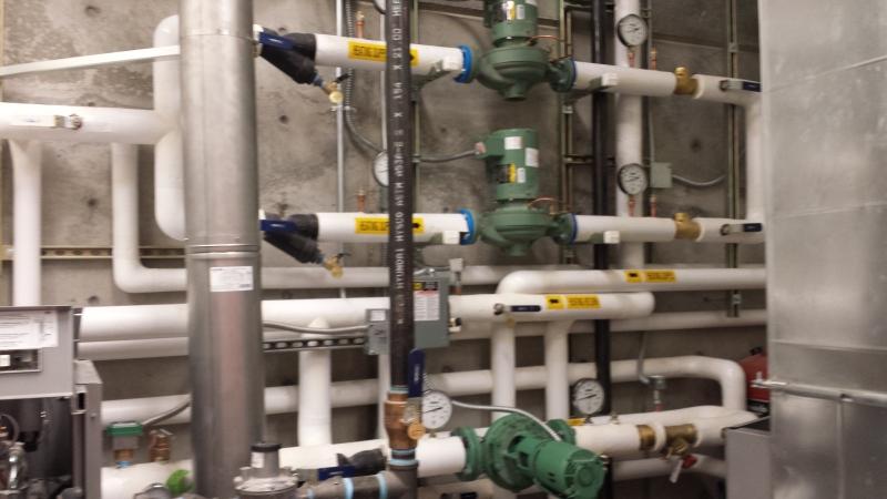 Plumbing at COCC
